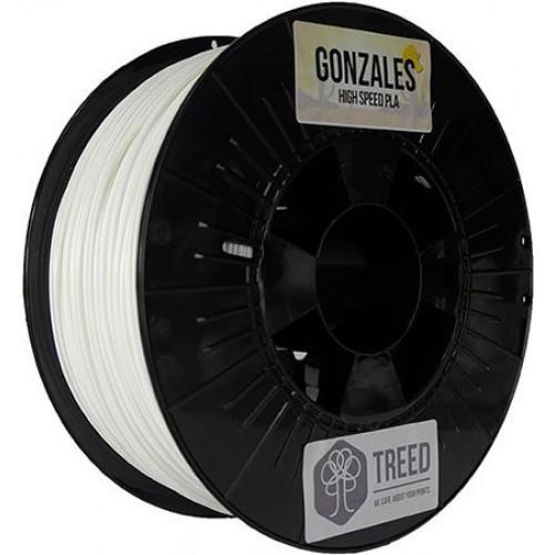 Пластик Treed Gonzales PLA белый