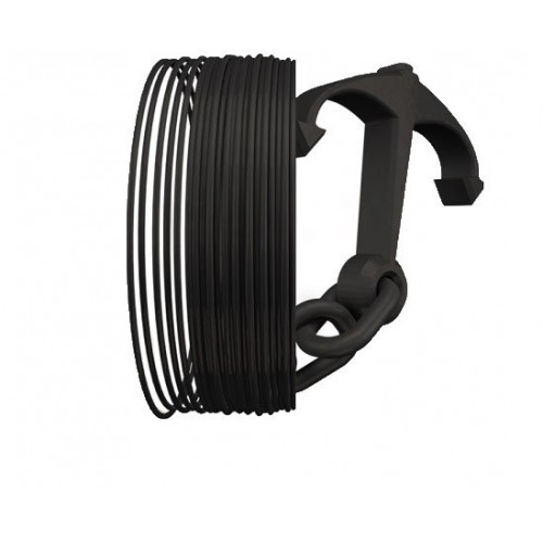 Пластик Treed Longchain Nylon черный
