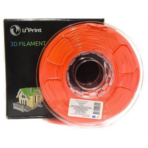 ABS HP пластик U3print 1,75 Mandrarine Fluory 1 кг