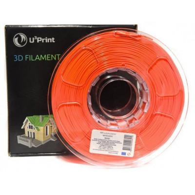 PLA HP пластик U3print 1,75 Mandarine Fluory 1 кг