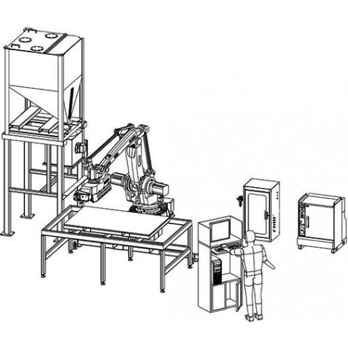 Роботизированный комплекс EnvisionTec Viridis3D