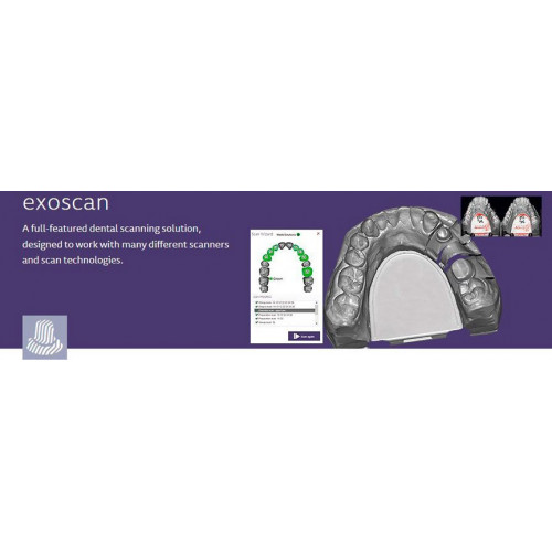 Модуль Exocad Exoscan