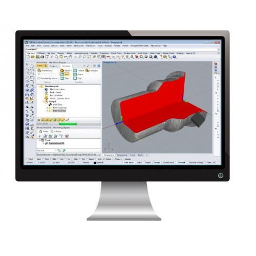 Программное обеспечение MecSoft Corporation RhinoCAM TURN