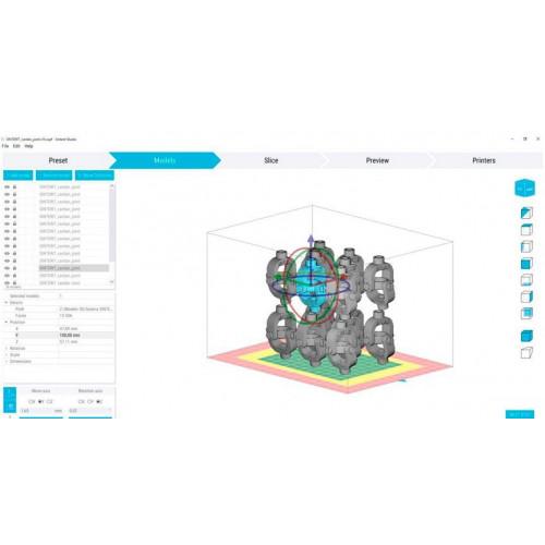 Программное обеспечение Sinterit Studio Open