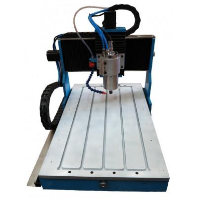 Настольный фрезерный станок по металлу Моделист CNC-2638AL-S