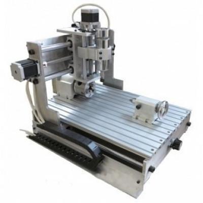 4х осевой фрезерный станок ЧПУ Моделист CNC-3040AL4х