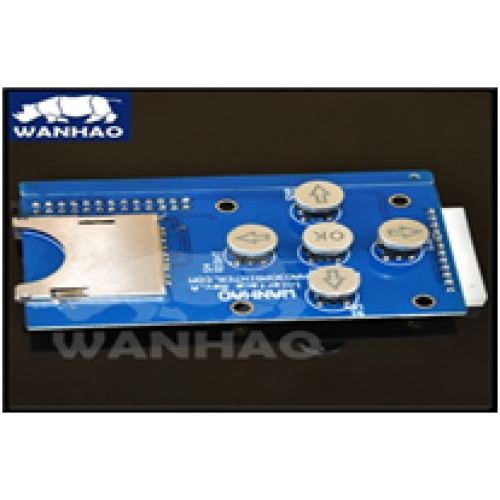 Модуль управления с Card Reader для Wanhao D4S