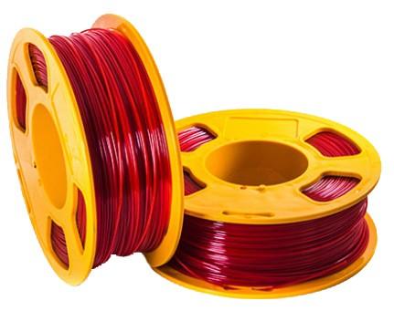 PETG пластик GeekFillament в катушках U3Print 1,75мм 1кг (Red matte)