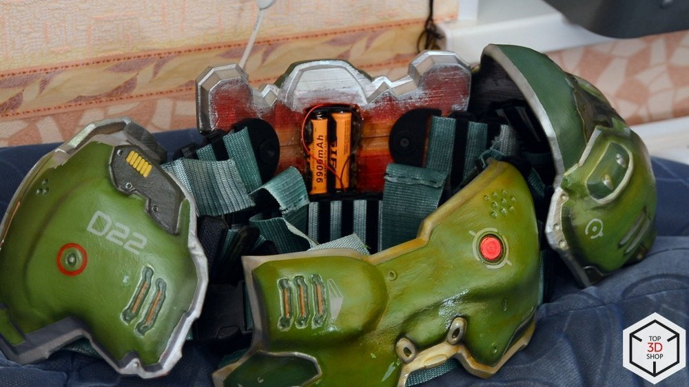 Косплейный костюм, 3D-принтере