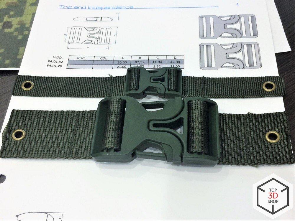 Прототипы креплений распечатанные на 3D-принтере