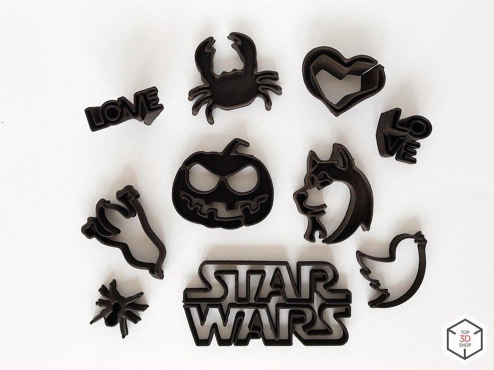 Фигурки, распечатанные на шоколадном 3D-принтере