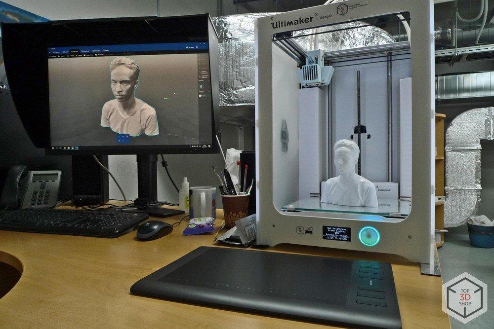 Печать музейных экспонатов на 3д принтере
