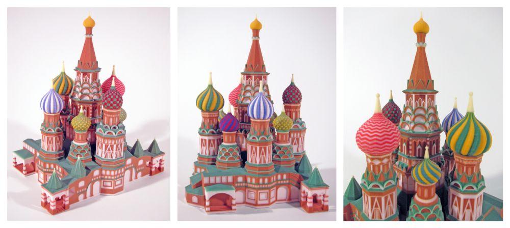 Пример цветной печати на 3D-принтере