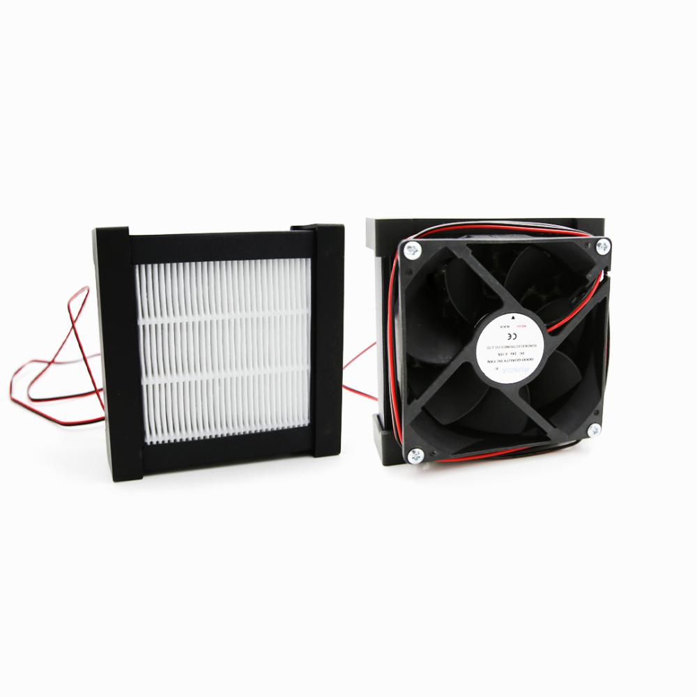 3D-принтер Raise3D Pro2 оснащен HEPA фильтром, абсорбирующим 91% частиц при печати