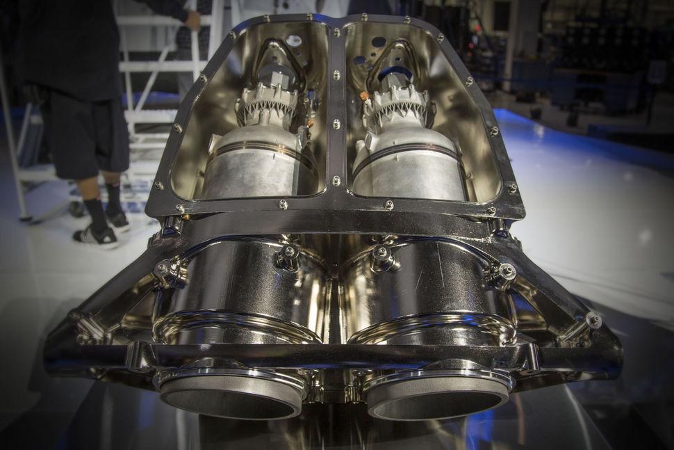 напечатанный ракетный двигатель