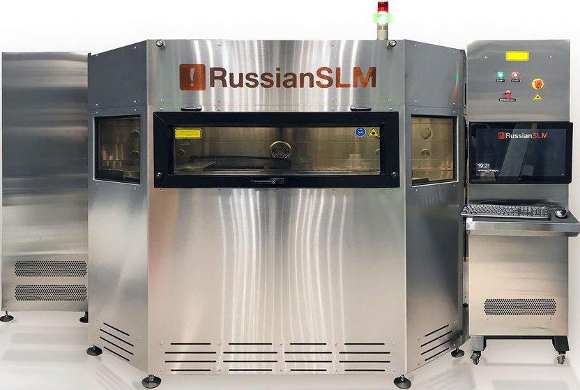 3D-принтер для печати металлами RussianSLM 250