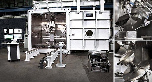 3D-принтер для печати металлами Sciaky EBAM 300