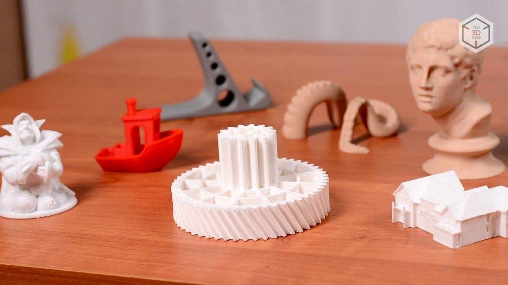 Пример печати 3D-принтера Anicubic I3 Mega