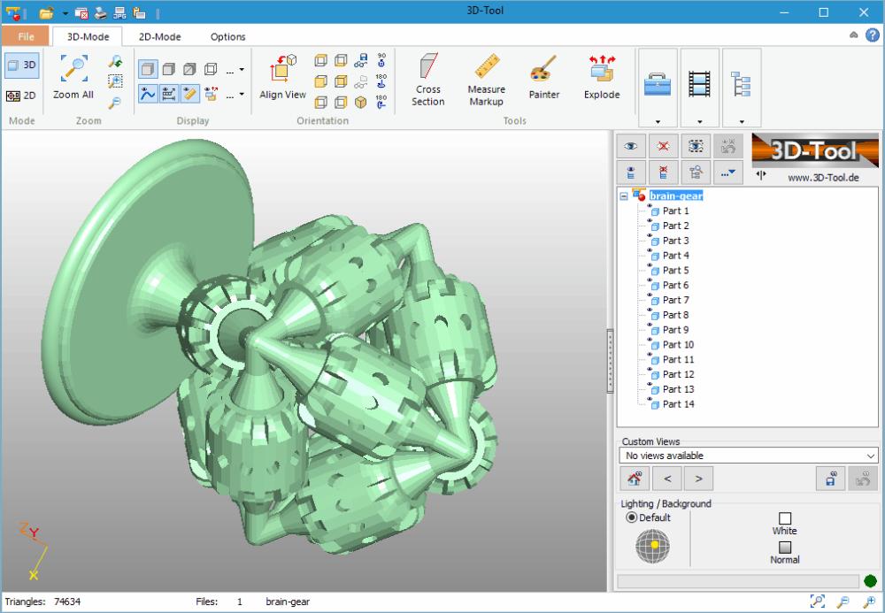 программа для 3д печати 3d-tool