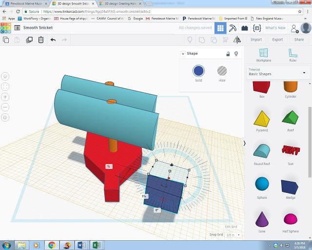 TinkerCAD - программа для 3D-моделирования