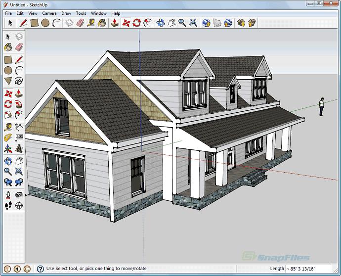 3D-моделлинг на Скетчапе