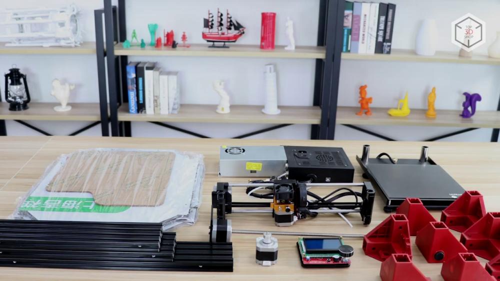 Набор для сборки от Anycubic пользовался популярностью среди энтузиастов 3D-печати