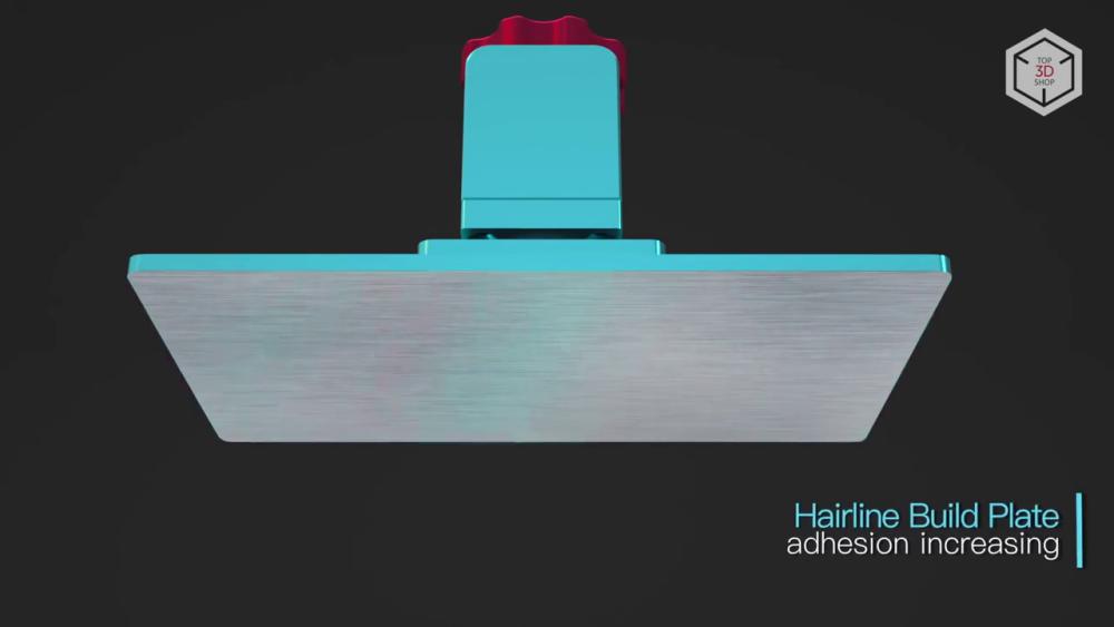 Микрорельефное покрытие  Anycubic Photon повышает адгезию изготавливаемой детали и лучше удерживает ее в процессе печати