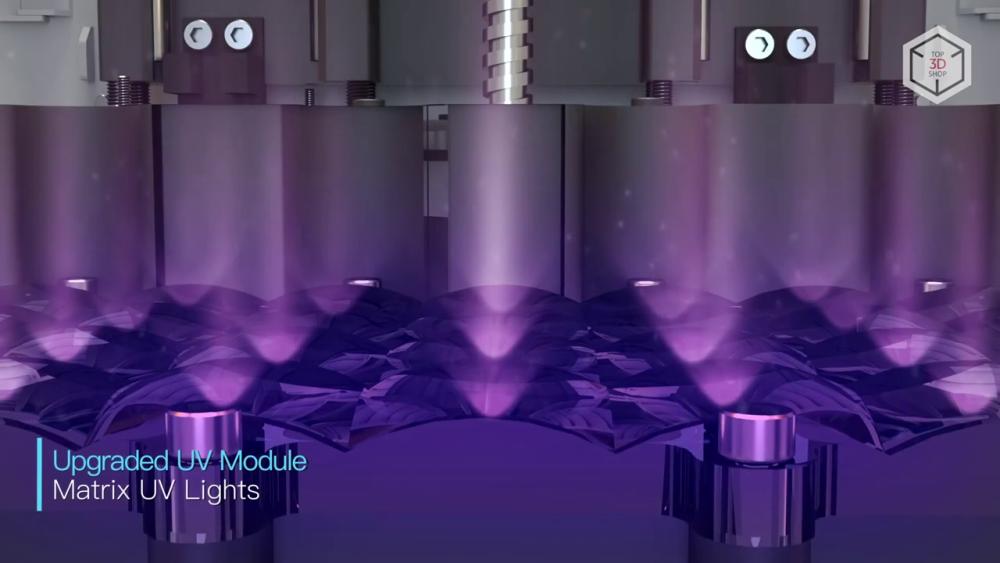 Anycubic Photon S оснастили улучшенным модулем ультрафиолетового излучения