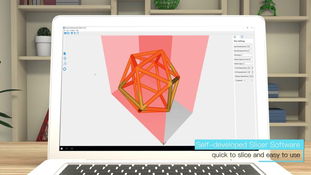 Удобный и быстрый слайсер собственной разработки для Anycubic Photon S