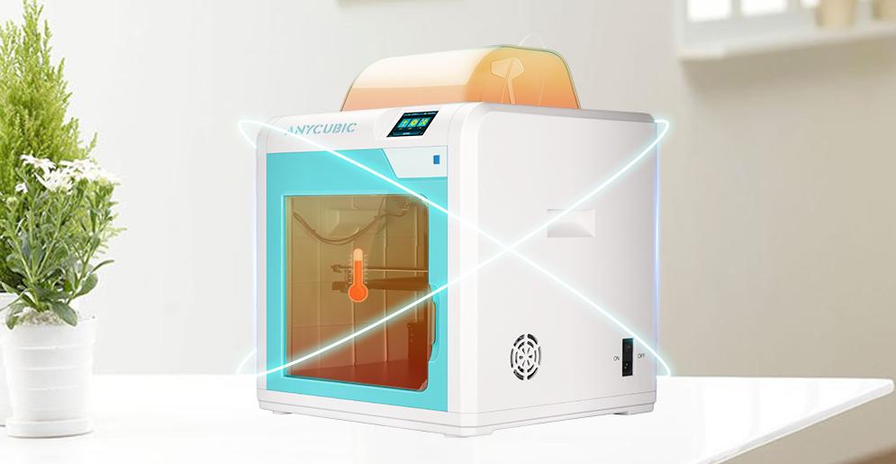 Возможность поддержания заданной температуры в камере принтера 4MAX PRO упрощает печать ABS