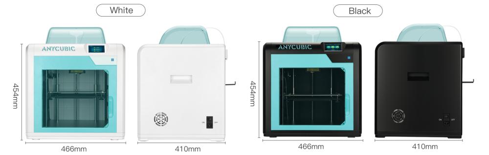 4MAX PRO поставляется в двух цветовых решениях