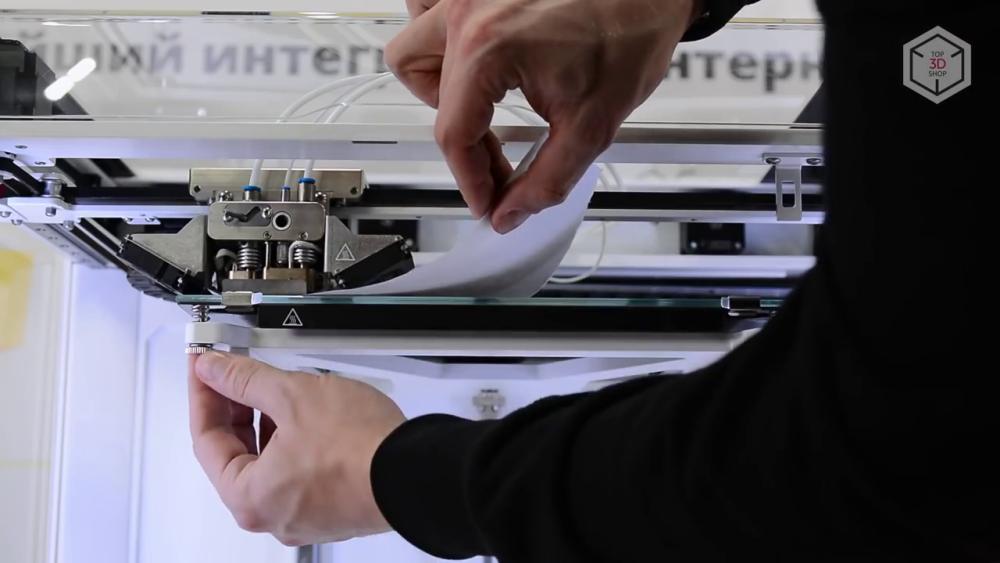 Калибровка Anisoprint Composer A4 осуществляется в полуавтоматическом режиме
