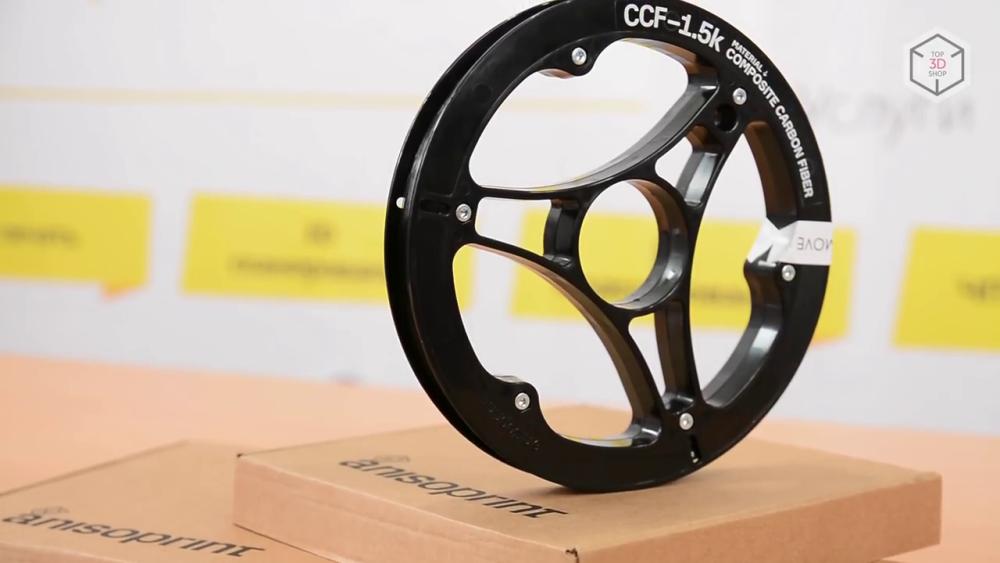 Углеволокно CCF производится компанией Anisoprint и поставляется в катушках по 750 метров
