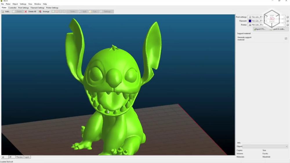 3D-принтер Hercules