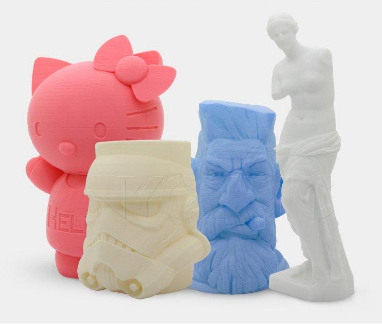 Пример печати 3D-принтер Anycubic I3 Mega