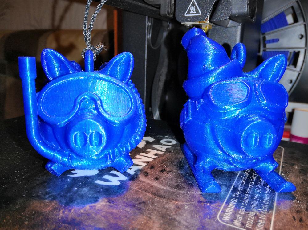 Пример печати 3D-принтер Wanhao Duplicator i3 Mini (D i3mini)
