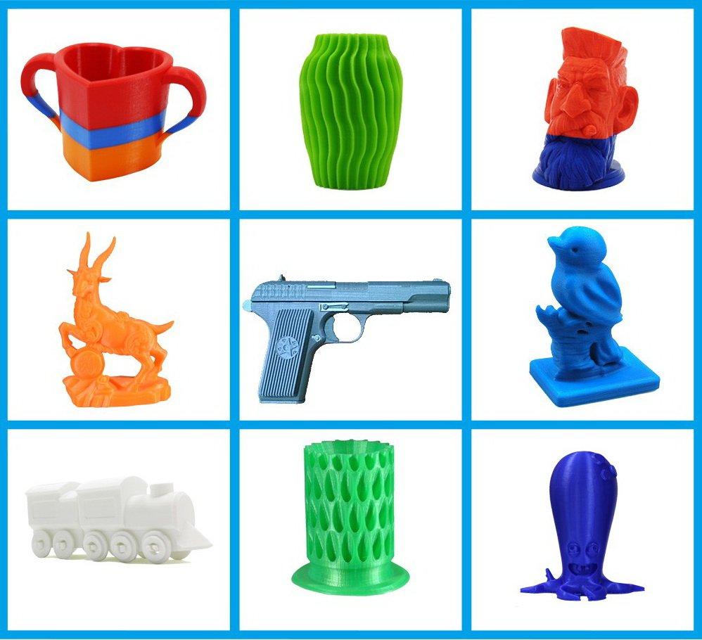 Пример печати 3D-принтер Anet A8 autolevel