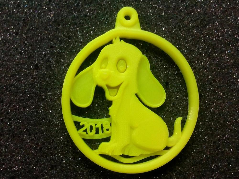 Пример печати 3D-принтера Tevo Tarantula