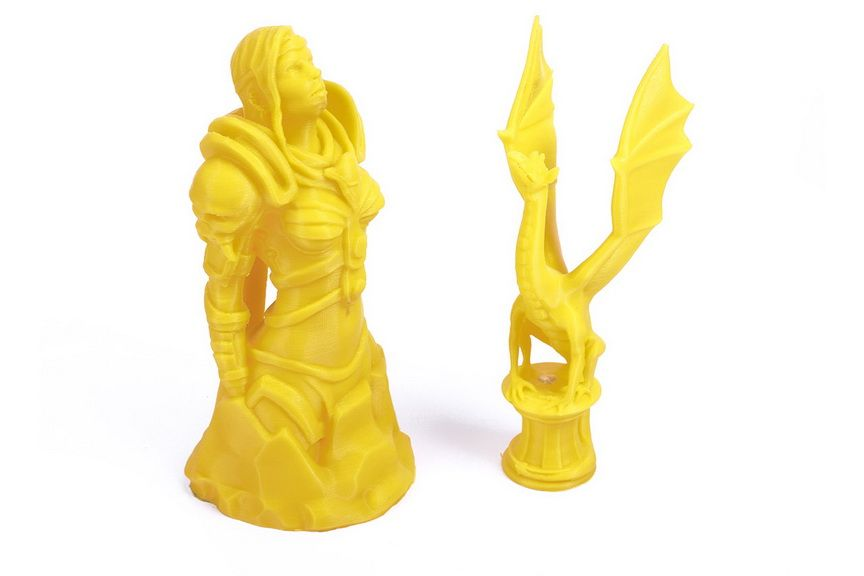 Пример печати на 3D-принтере Prusa i3 Steel DIY