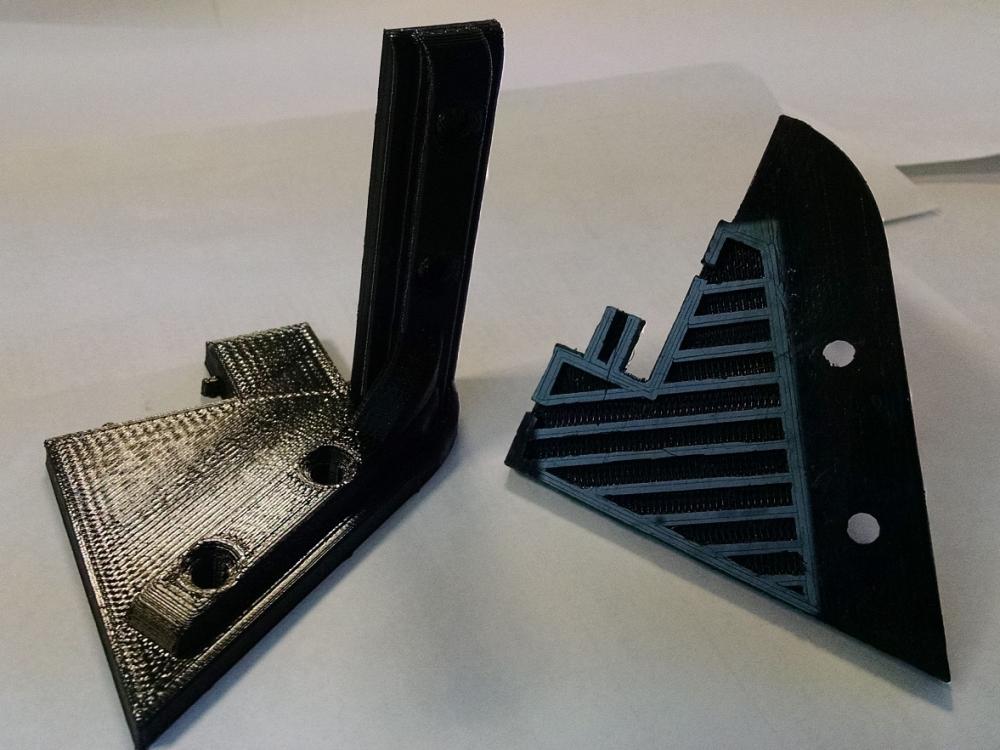 Пример печати 3D-принтера Anycubic Kossel Plus