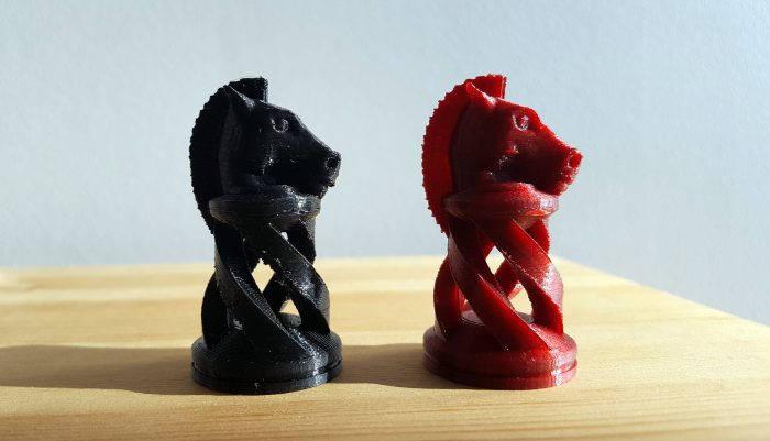 Пример печати 3D-принтера UP Mini 2
