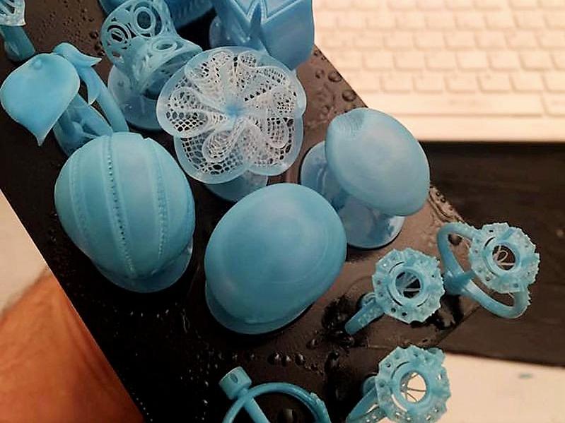 Пример печати на 3D-принтере Wanhao Duplicator 7 (D7 1.5)