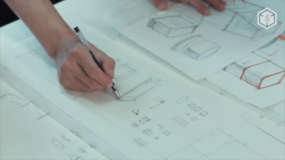 Разработка чертежей MakeX M-One Pro 70