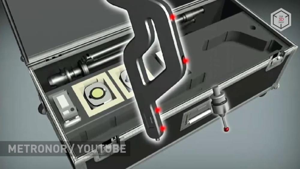 Metronor Solo — базовая модель в линейке портативных координатно-измерительных машин компании