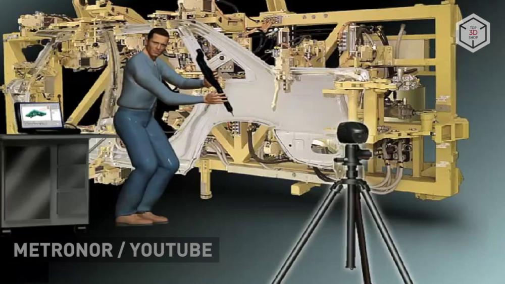 Система Solo позволяет проводить высокоточные измерения сложных габаритных деталей