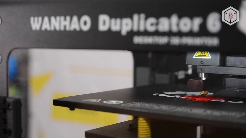 Имеющееся покрытие стола Duplicator 6 обеспечивает отличную адгезию и не менее легкое снятие готовой модели