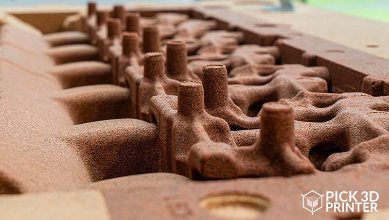 В чем преимущества 3D-печати на песке