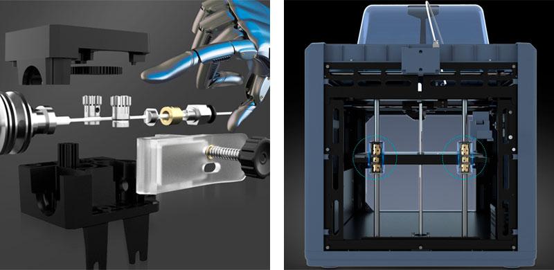 Элементы 3D принтера Anycubic 4max Pro v2.0