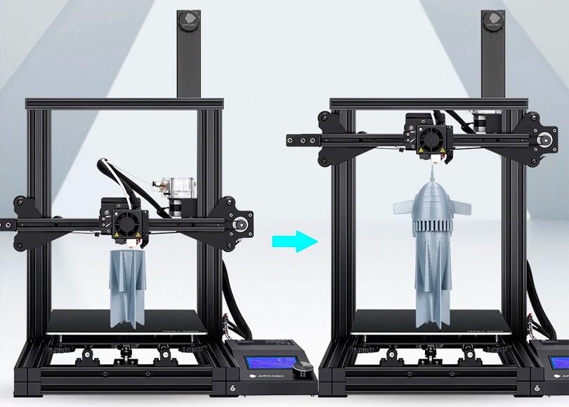 Модель ракеты на принтере anycubic mega zero 2.0