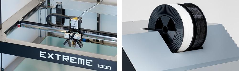 Печать на 3Д принтере Builder Extreme 1000 PRO